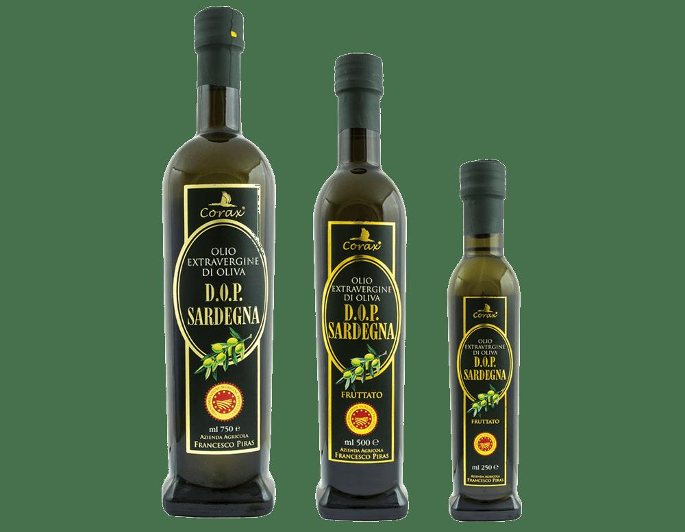 Olio Extravergine d'Oliva Corax D.O.P. Sardegna Fruttato